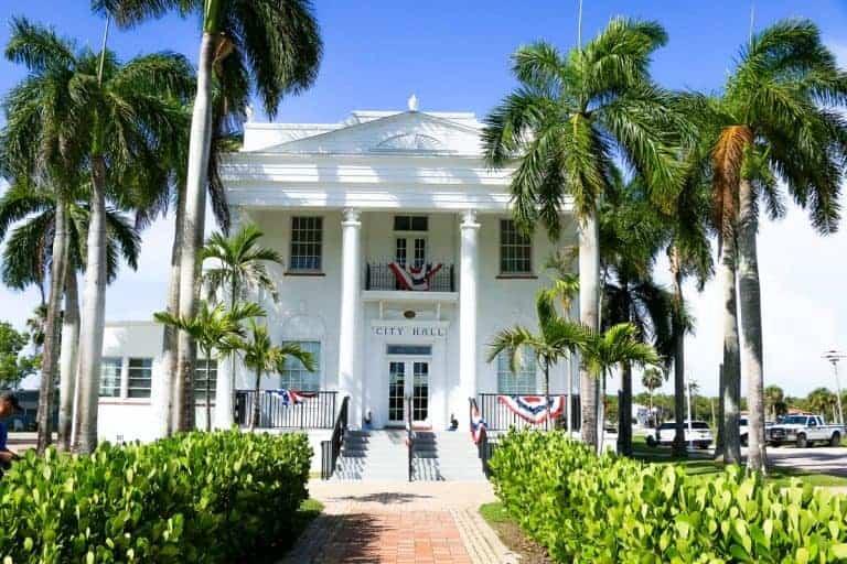 Everglades City in Florida USA