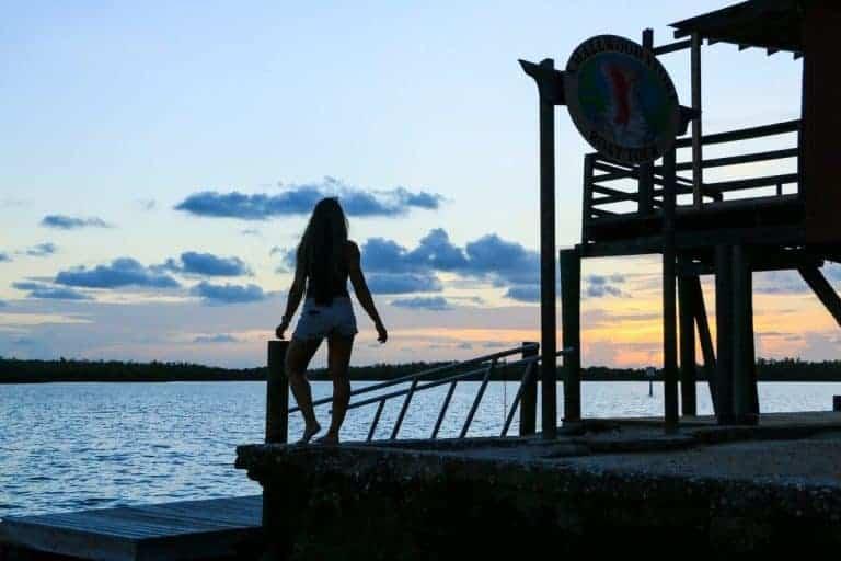 Sunset in Ten Thousand Islands