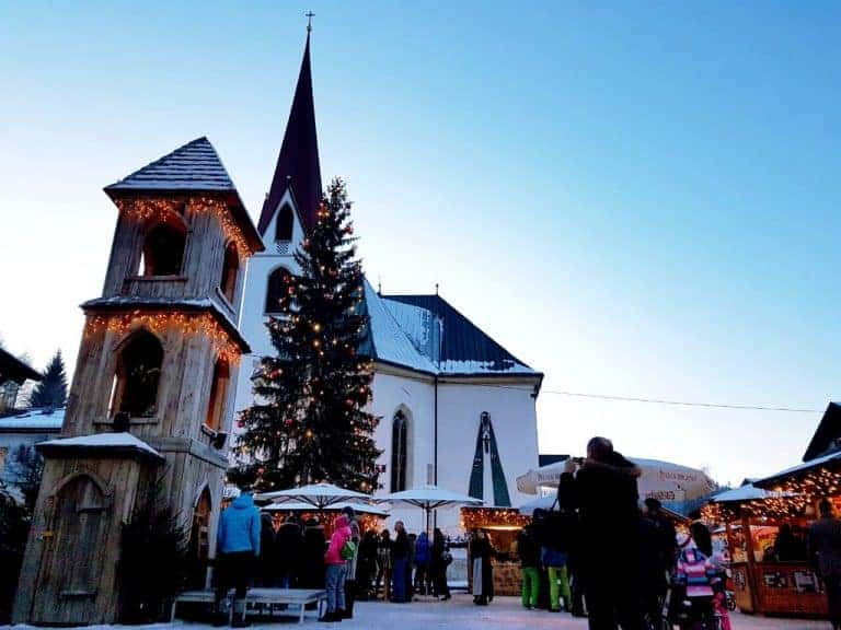 One of the coolest Christmas Markets in Austria