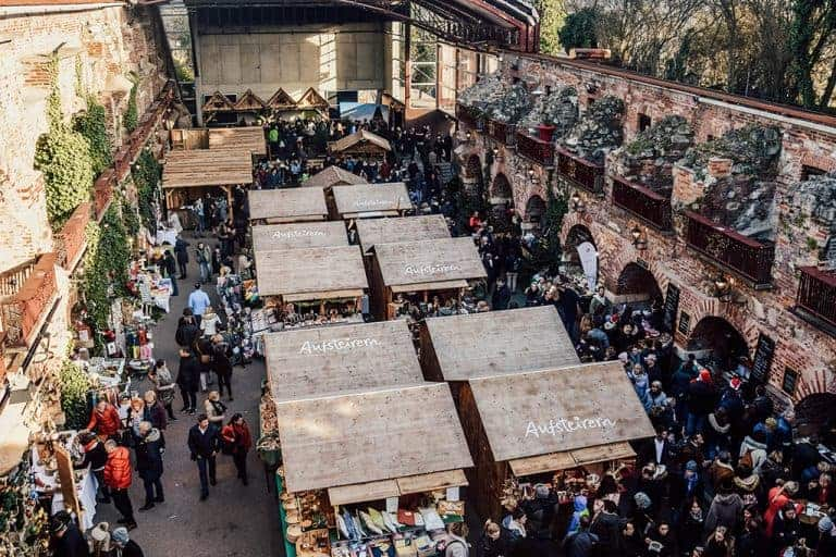 The coolest Christmas Market in Austria
