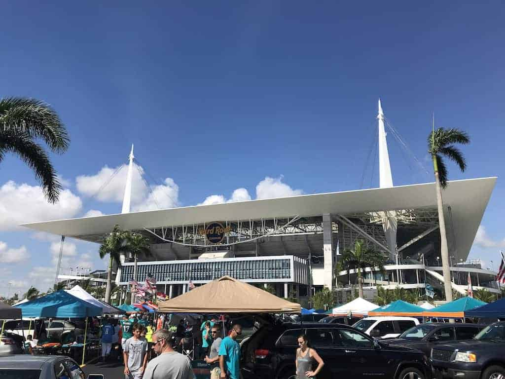 Miami Dolphin game is a must do things in Florida