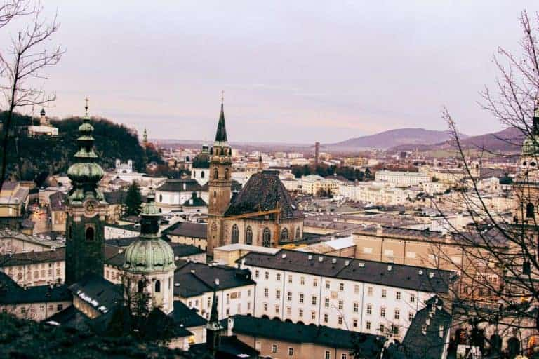 Salzburg winter
