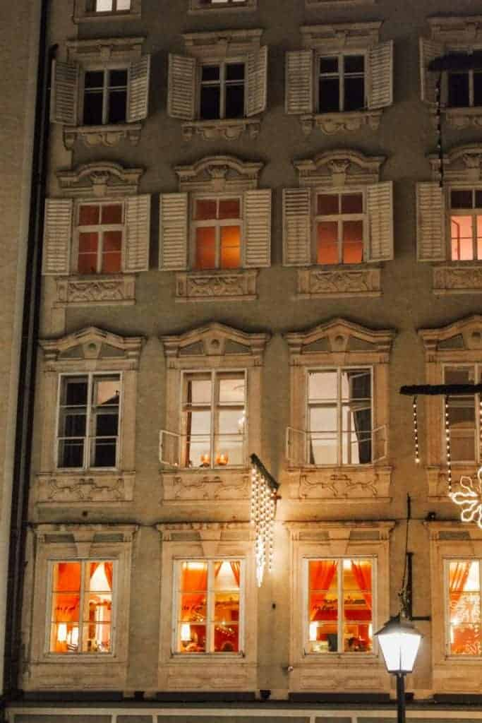 Salzburg Winter Christmas Lights