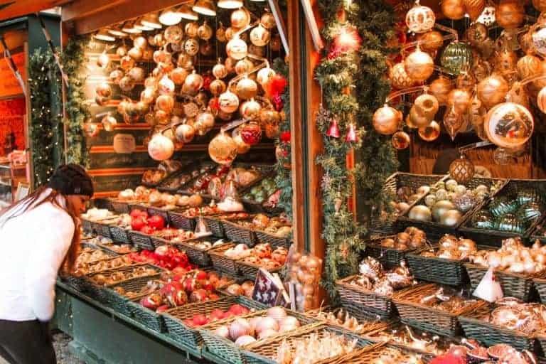 Salzburg Christmas Market decorations