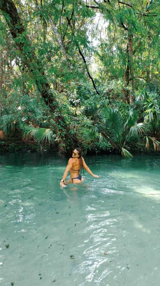 swimming at Weeki Wachee for your trip to Florida