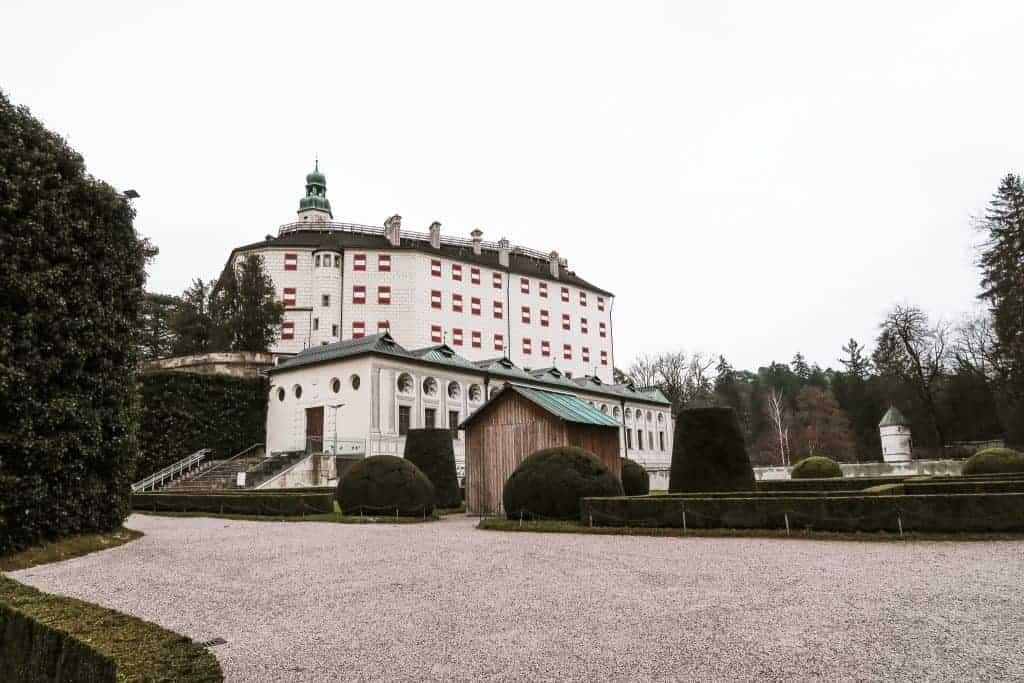 The best castle to visit in Innsbruck Austria