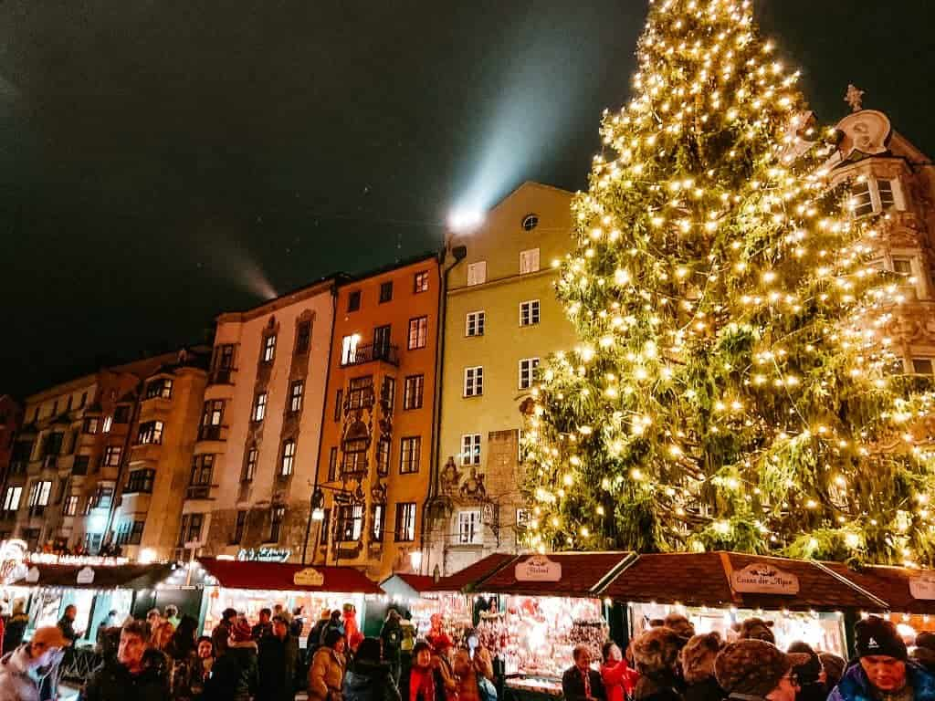 Austria during Christmas Market