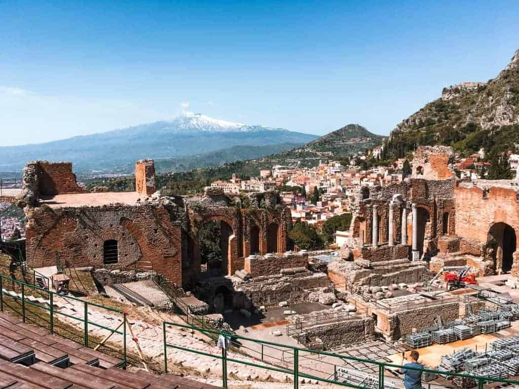 Landmark in Sicily