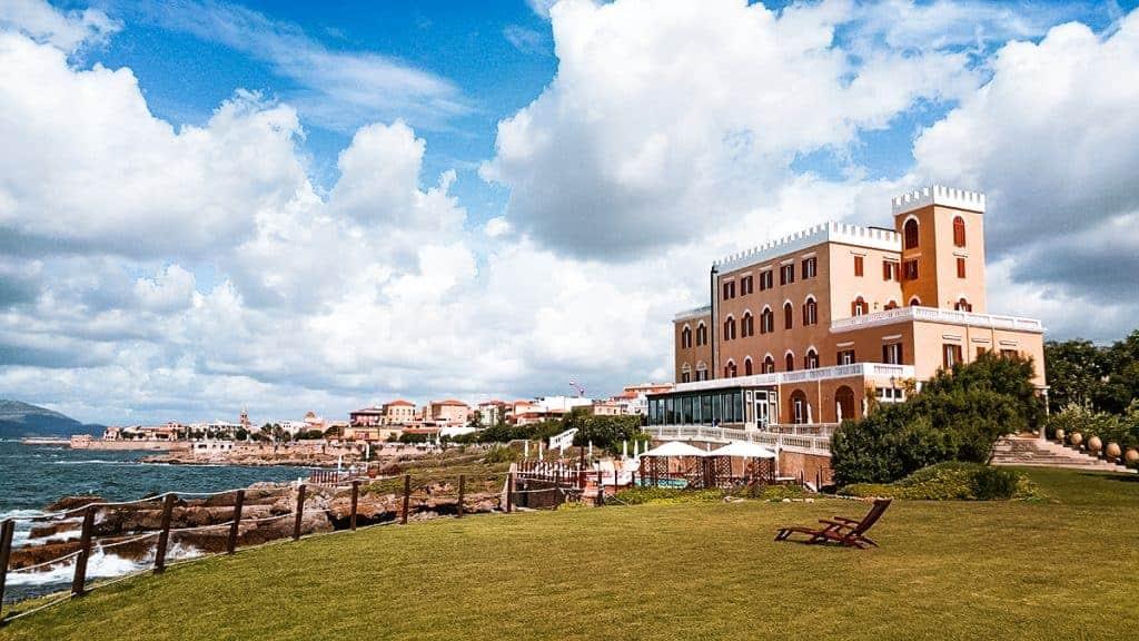 Coastal Italian towns