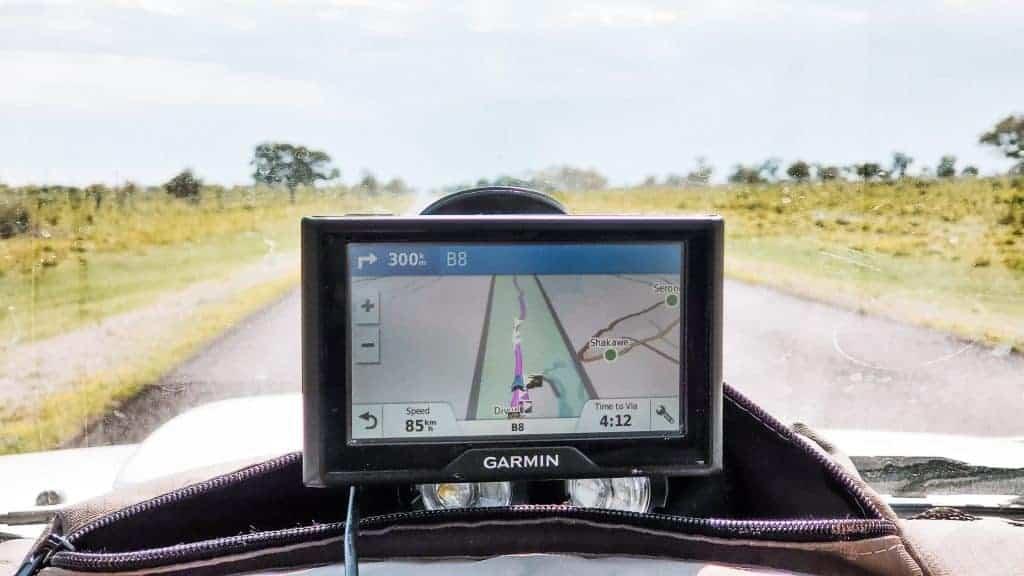 Botswana self-drive itinerary