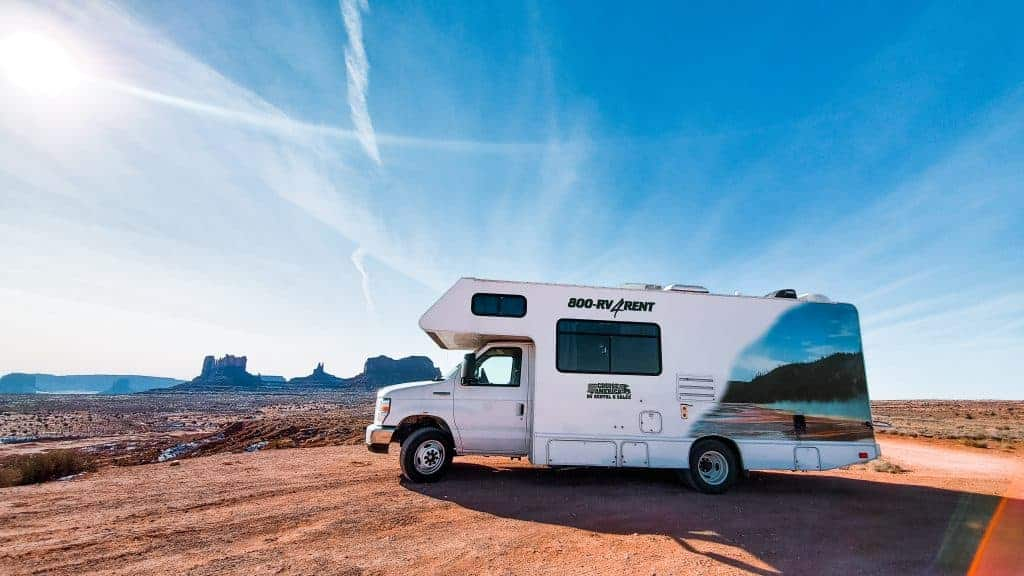 RV rental prices for road trip
