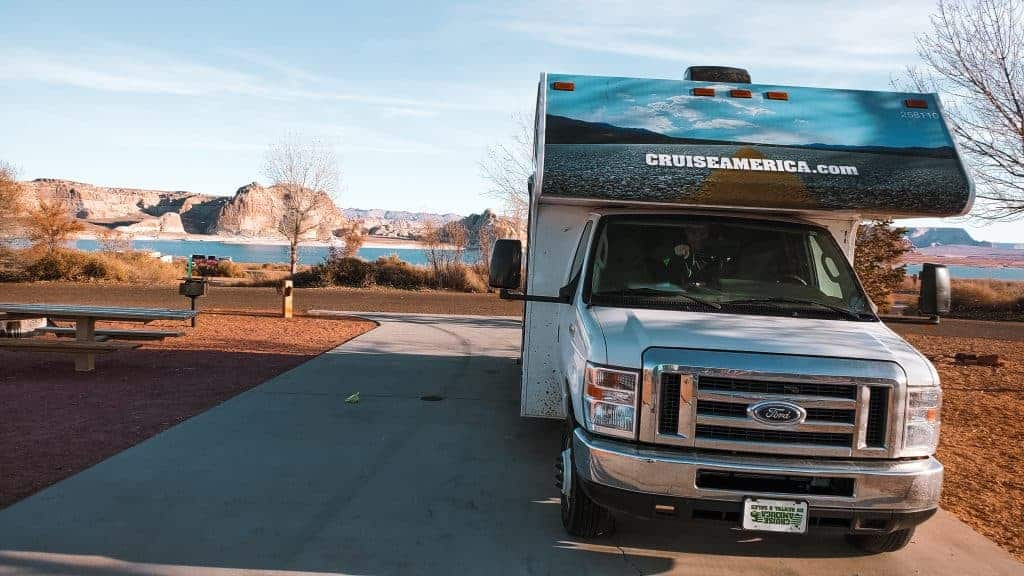 RV campground national park