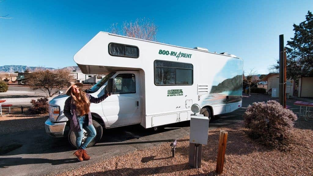 Rental RV for a road trip
