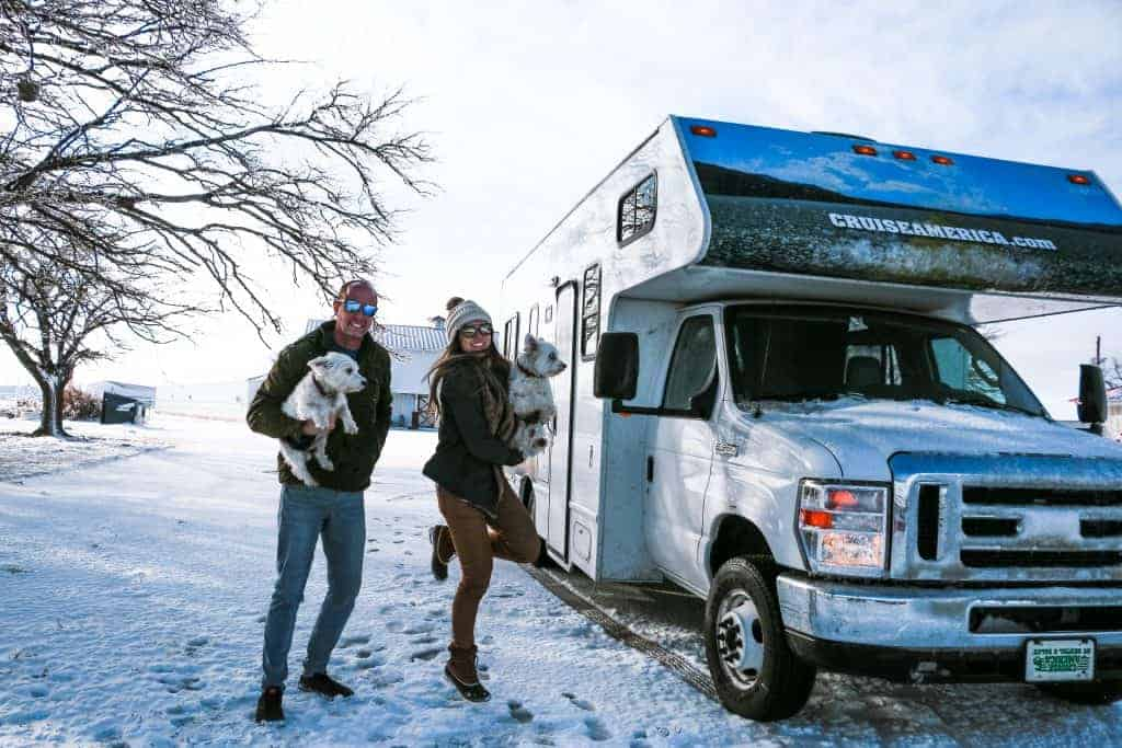 Renting and RV for a road trip