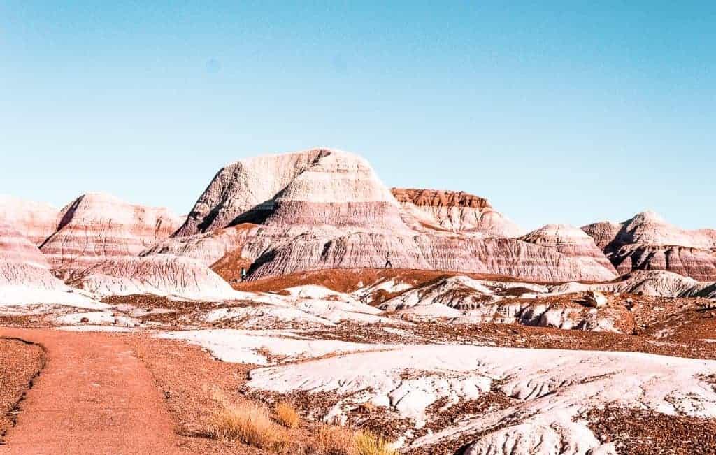 Blue Mesa Trail Hiking in Arizona