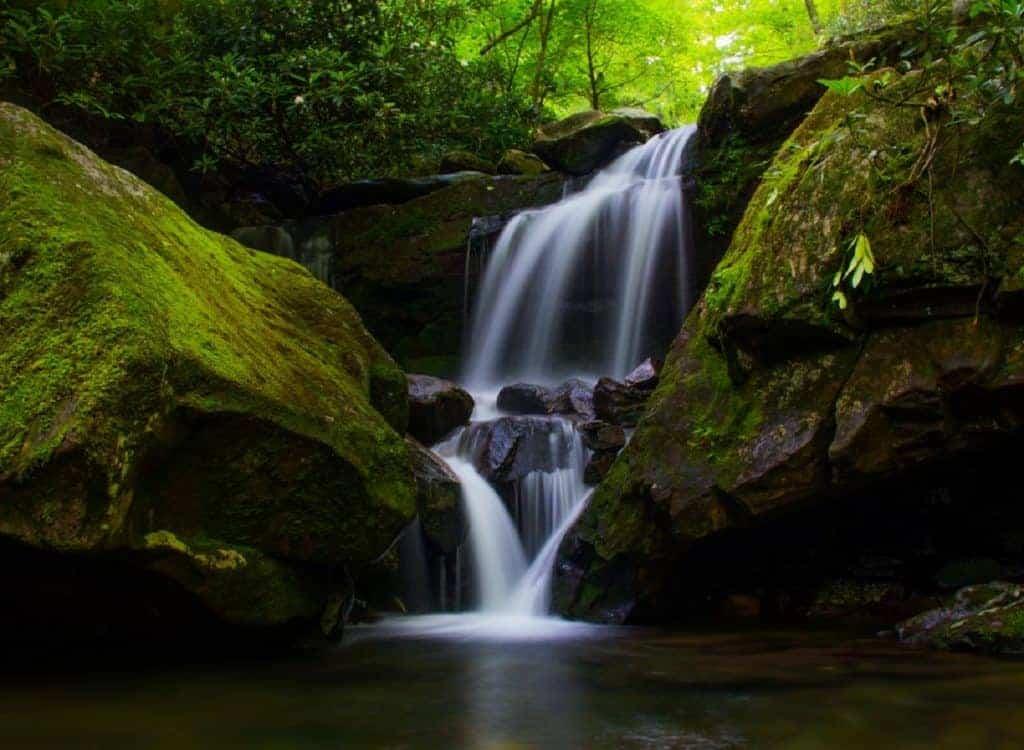 Grotto Falls Trail