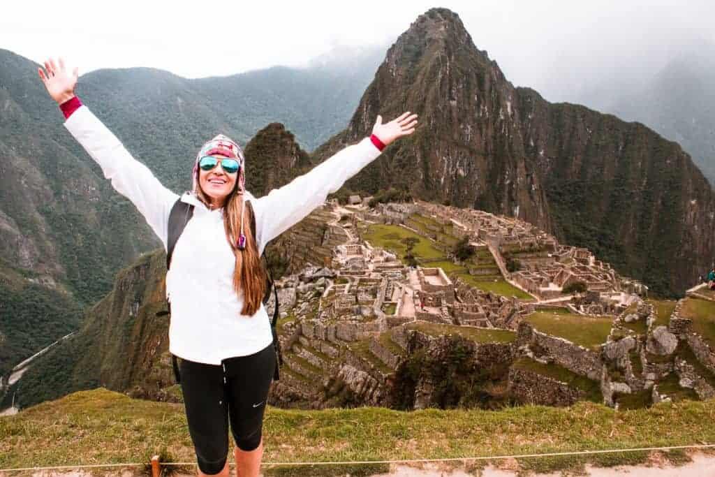 Backpacking in South America Peru