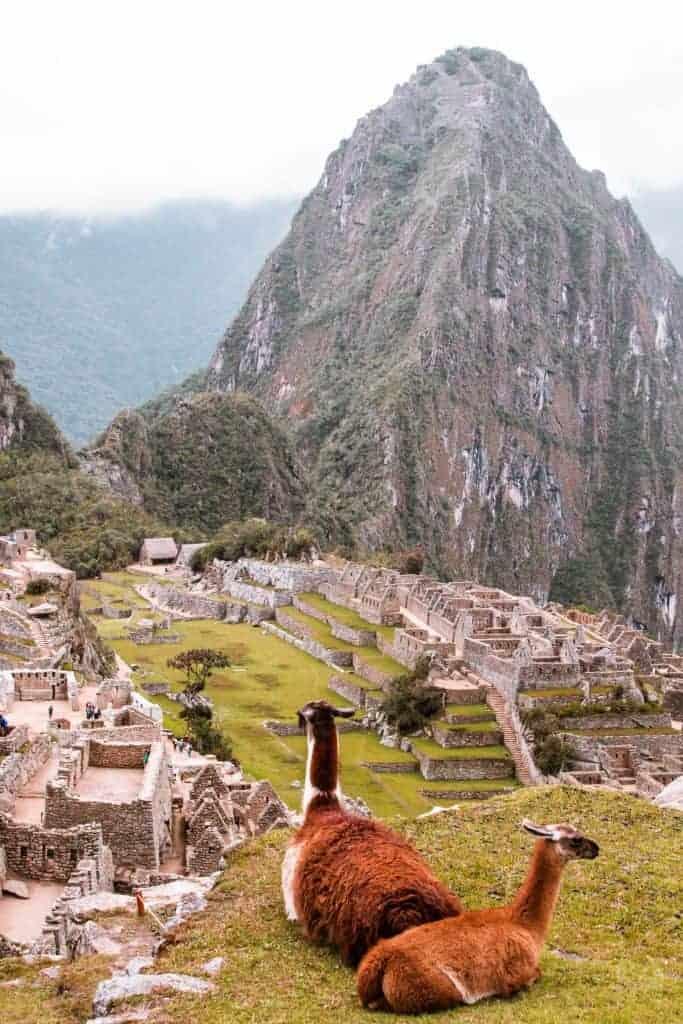 Backpacking South America Peru hikes
