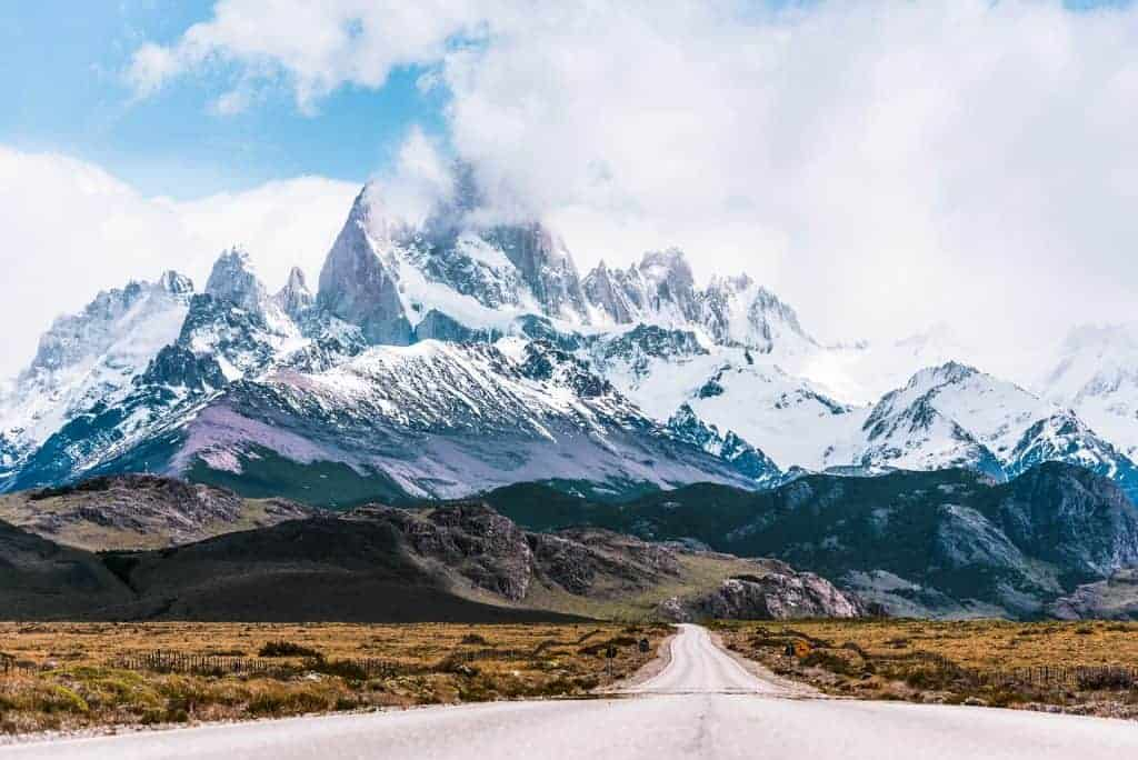 South America backpack route