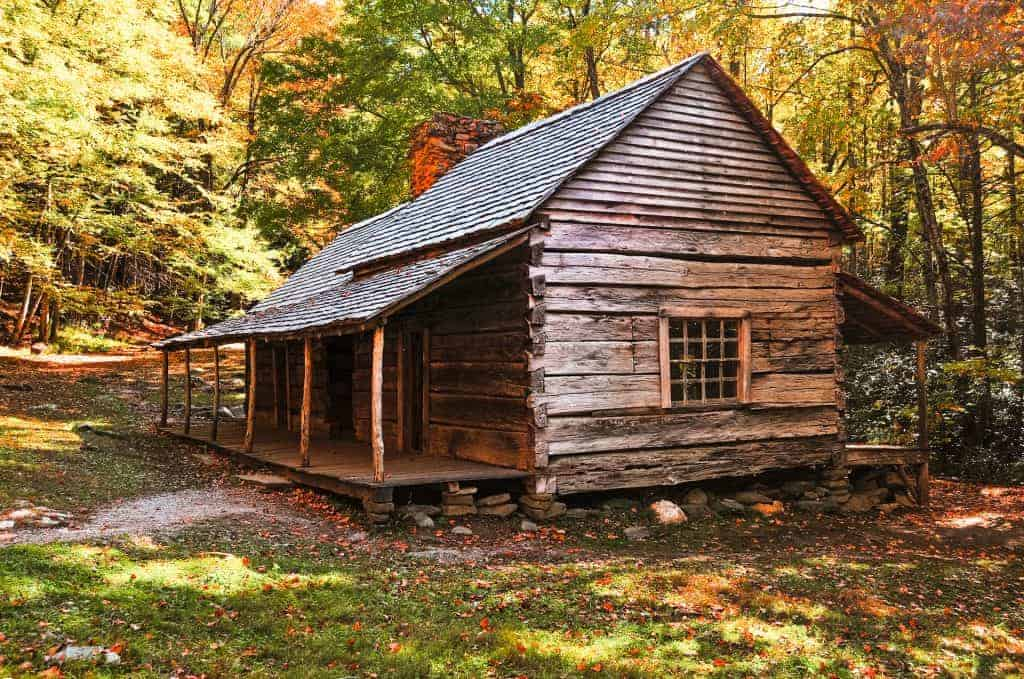 Cabin in the gret Smoky Mountain