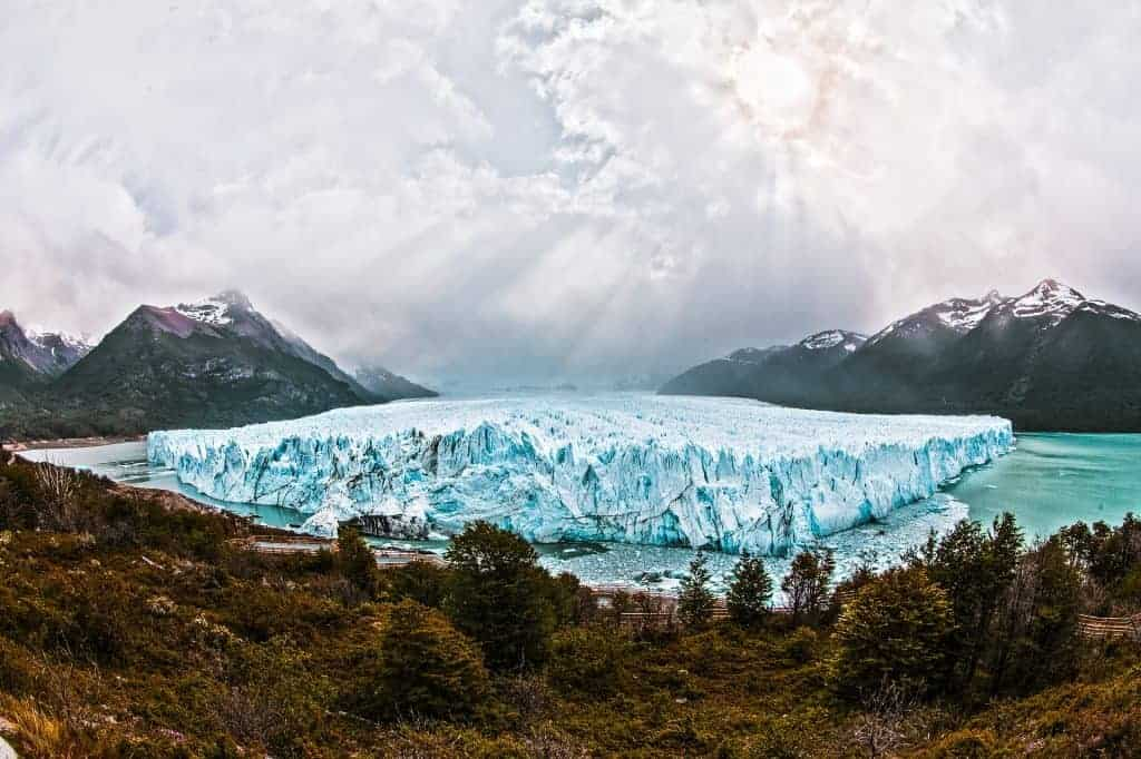 Backpacking in South America Patagonia