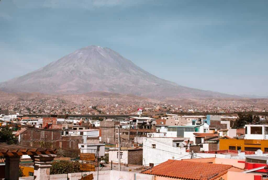 One of the best Peru hikes in arequipa