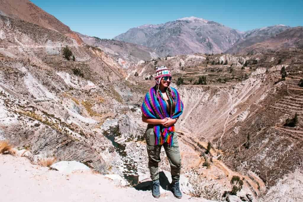 Peru hikes in Colca Canyon are amazing