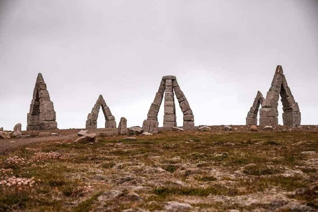 Artic Henge is an Iceland attraction that is a great day trip from Reykjavik