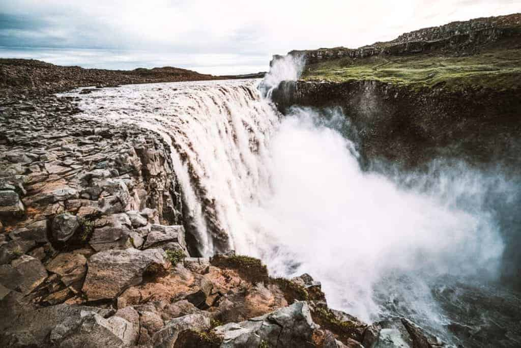 Detifoss is a famous landmark in Iceland and one of the top Iceland attractions you need to add to your itinerary