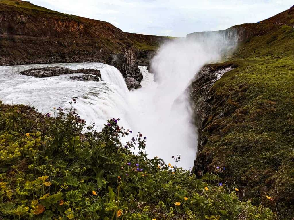 Gulfoss is part of the Ring Road one of the best Iceland attractions