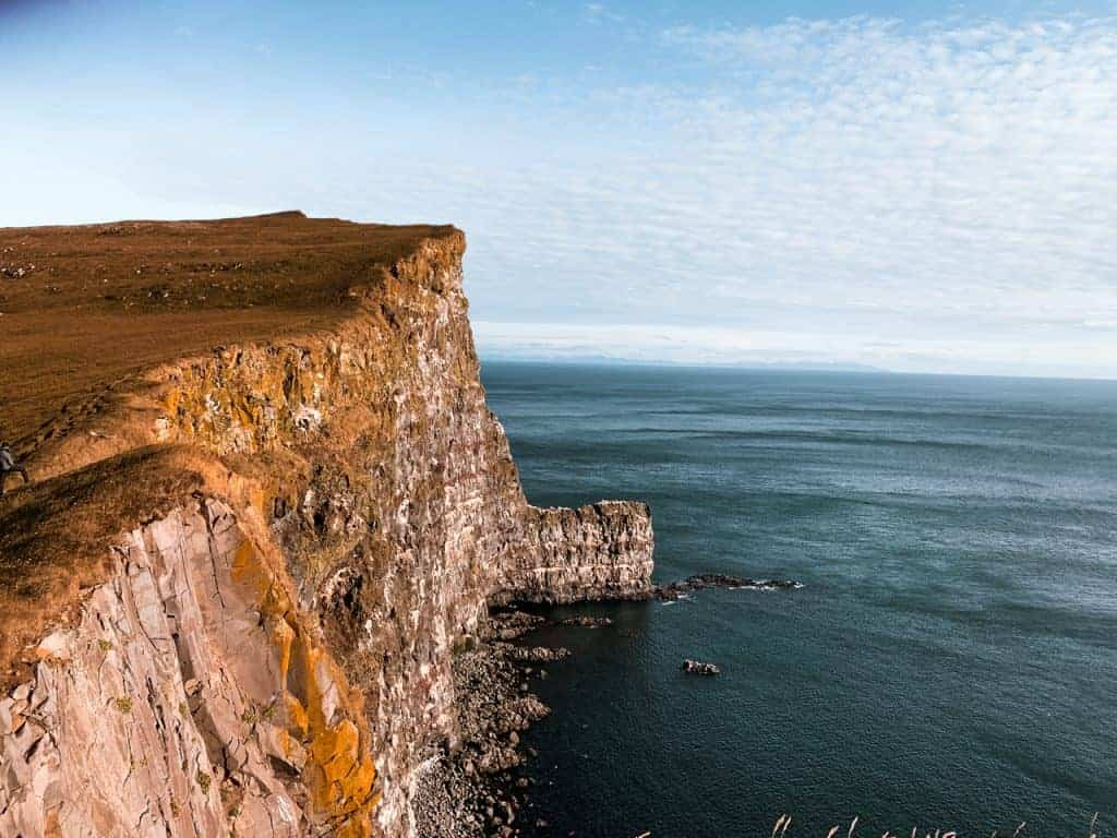 Látrabjarg Cliffs is one of the top Iceland famous landmarks
