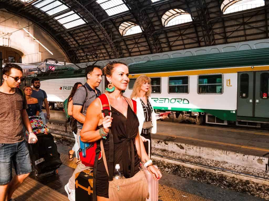 From Rome to Tuscany by regional train