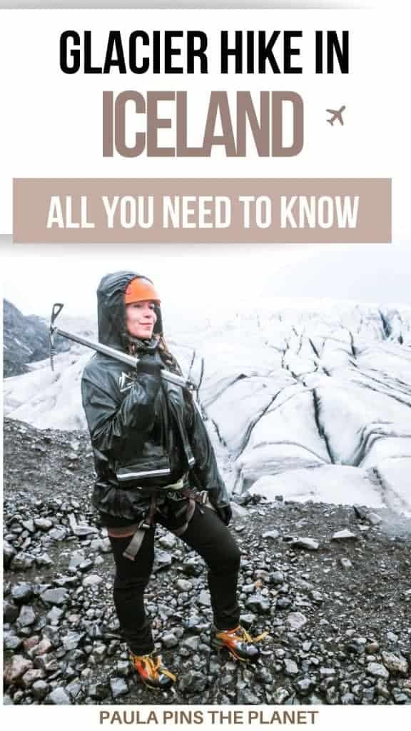 Glacier Hike Iceland Pinterest