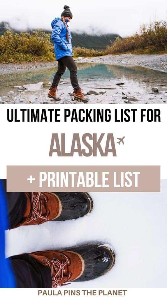 packing list for Alaska Pinterest