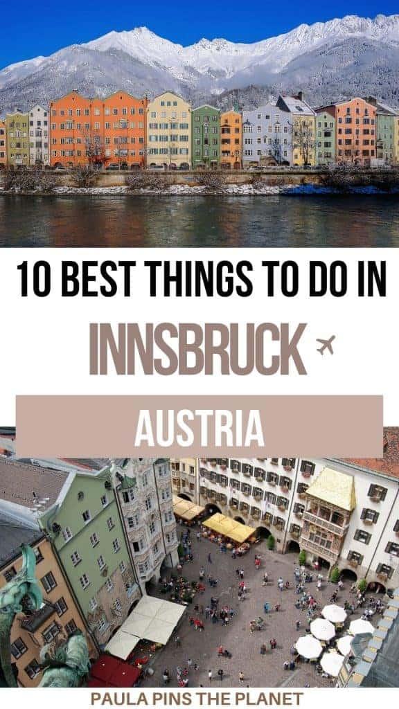 Things to do in Innsbruck Austria